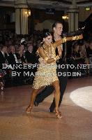Dmytro Wloch & Olga Urumova at Blackpool Dance Festival 2009