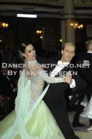Kyle Taylor & Polina Shklyaeva at Blackpool Dance Festival 2012