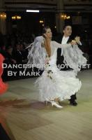 Ivo Lodesani & Cathrin Hissnauer at Blackpool Dance Festival 2012