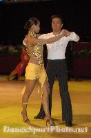 Melvin Tan & Sharon Tan at Blackpool Dance Festival 2007