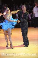 Melvin Tan & Sharon Tan at Blackpool Dance Festival 2008