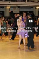 Melvin Tan & Sharon Tan at Blackpool Dance Festival 2010