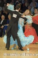 Benedetto Ferruggia & Claudia Köhler at UK Open 2007