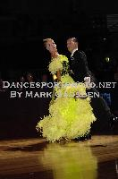 Paolo Bosco & Joanne Clifton at 67th Australian Dancesport Championship