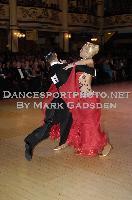 Andrea Ghigiarelli & Sara Andracchio at Blackpool Dance Festival 2009