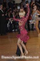 Jesper Birkehoj & Anna Anastasiya Kravchenko at Blackpool Dance Festival 2007