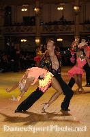 Ivan Bocharov & Josefina Ortova at Blackpool Dance Festival 2007