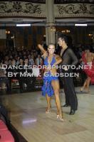 Ilia Russo & Oxana Lebedew at Blackpool Dance Festival 2012