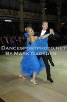 Alex Freyr Gunnarsson &amp; Liis End at Blackpool Dance Festival 2012