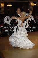 Nikolai Darin & Ekaterina Fedotkina at Blackpool Dance Festival 2009