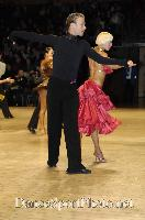 Cedric Meyer & Angelique Meyer at UK Open 2007