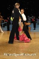 Cedric Meyer &amp; Angelique Meyer at UK Open 2007