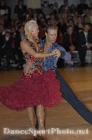 Cedric Meyer & Angelique Meyer at Blackpool Dance Festival 2007