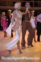 Cedric Meyer & Angelique Meyer at Blackpool Dance Festival 2008