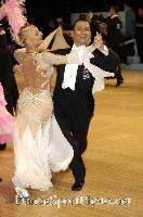 Daniele Gallaro &amp; Kimberly Taylor at UK Open 2007
