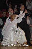 Daniele Gallaro & Kimberly Taylor at Blackpool Dance Festival 2007