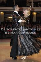Daniele Gallaro & Kimberly Taylor at Blackpool Dance Festival 2009