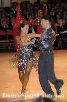 Eugene Katsevman & Maria Manusova at Blackpool Dance Festival 2008