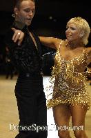 Alex Ivanets & Lisa Bellinger-Ivanets at UK Open 2007