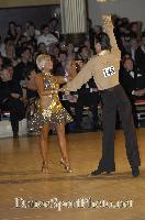 Alex Ivanets & Lisa Bellinger-Ivanets at Blackpool Dance Festival 2007