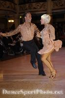 Alex Ivanets & Lisa Bellinger-Ivanets at Blackpool Dance Festival 2008
