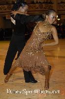 Alex Wei Wang &amp; Roxie Jin Chen at Blackpool Dance Festival 2007