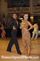 Alex Wei Wang & Roxie Jin Chen at Blackpool Dance Festival 2007