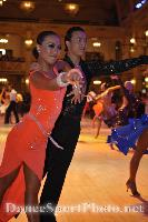Alex Wei Wang & Roxie Jin Chen at Blackpool Dance Festival 2008