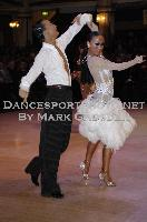 Alex Wei Wang & Roxie Jin Chen at Blackpool Dance Festival 2009