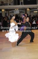 Alex Wei Wang & Roxie Jin Chen at Blackpool Dance Festival 2010