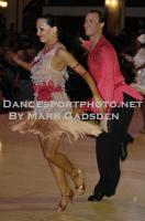 Sergey Sourkov & Agnieszka Melnicka at Blackpool Dance Festival
