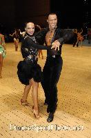 Sergey Sourkov & Agnieszka Melnicka at UK Open 2007