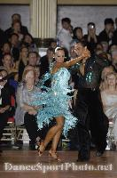 Sergey Sourkov & Agnieszka Melnicka at Blackpool Dance Festival 2008