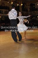 Sergey Sourkov & Agnieszka Melnicka at Blackpool Dance Festival 2009
