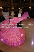 Qing Shui & Yan Yan Ma at Blackpool Dance Festival