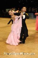 Qing Shui & Yan Yan Ma at UK Open 2007