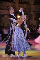 Francesco Andreani & Francesca Longarini at Blackpool Dance Festival 2008