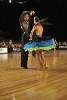 Kamil Studenny & Kateryna Trubina at Tattersall's Australian Open 2008