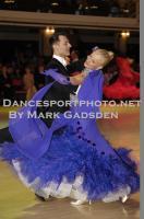 Oscar Pedrinelli & Kamila Brozovska at Blackpool Dance Festival