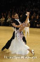 Roberto Villa & Morena Colagreco at UK Open 2007