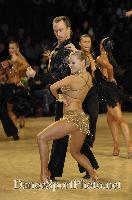 James Jordan & Aleksandra Grabowska at UK Open 2007