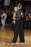 James Jordan & Aleksandra Jordan at Blackpool Dance Festival 2007