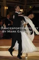 Lukasz Tomczak &amp; Aleksandra Jurczak at Blackpool Dance Festival
