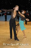Niels Didden & Gwyneth Van Rijn at UK Open 2007