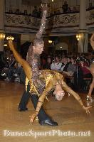 Niels Didden &amp; Gwyneth Van Rijn at Blackpool Dance Festival 2007