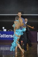 Niels Didden & Gwyneth Van Rijn at Tattersall's Australian Open 2008