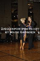 David Byrnes & Karla Gerbes at Crown DanceSport Championships