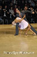 David Byrnes & Karla Gerbes at UK Open 2007