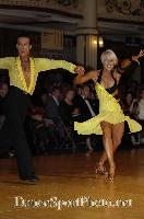 David Byrnes & Karla Gerbes at Blackpool Dance Festival 2007