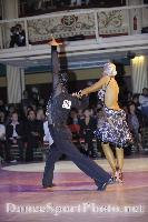 David Byrnes & Karla Gerbes at Blackpool Dance Festival 2008
